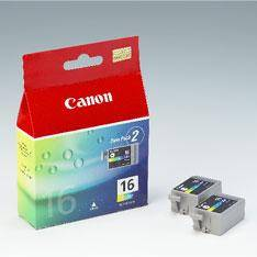 CARTUCHO TINTA CANON TRICOLOR BCI16 IP90 -0