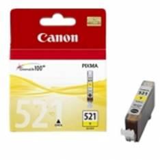 CARTUCHO TINTA CANON CLI 521 AMARILLO -0