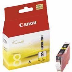 CARTUCHO TINTA CANON CLI 8 AMARILLO -0